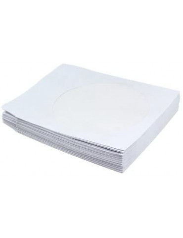 Cd Cover Paper / Plastic pack of 50