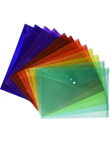 My Clear Bag Folder (Pack of 12)